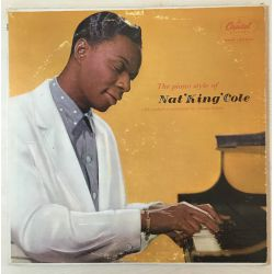 Nat 'King' Cole* – The Piano Style Of Nat 'King' Cole Plak-LP