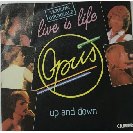 Opus ‎– Live Is Life / Up And Down