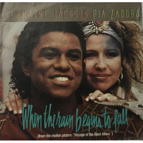 Jermaine Jackson, Pia Zadora ‎– When The Rain Begins To Fall