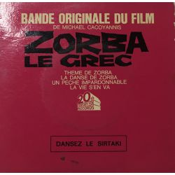 Mikis Theodorakis – Bande Originale Du Film Zorba Le Grec Plak