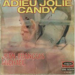 Jean-François Michael / Les Newstars – Adieu Jolie Candy / Francine Plak-lp