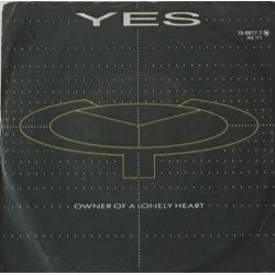 Yes – Owner Of A Lonely Heart Plak-lp