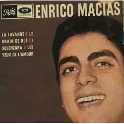Enrico Macias – La Lavande / Le Grain De Blé / Solenzara / Les Yeux De L'Amour Plak