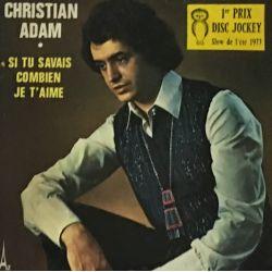 Christian Adam – Si Tu Savais Combien Je T'aime Plak