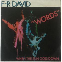 F-R David* – Words Plak-lp