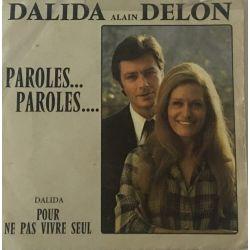 Dalida, Alain Delon – Paroles... Paroles...