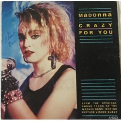 Madonna ‎– Crazy For You Plak