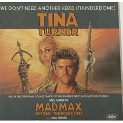 Tina Turner ‎– We Don't Need Another Hero (Thunderdome) Plak