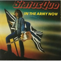Status Quo ‎– In The Army Now Plak