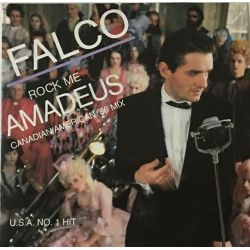 Falco ‎– Rock Me Amadeus (Canadian/American '86 Mix)