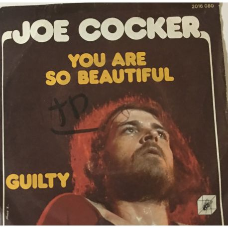 Joe Cocker ‎– You Are So Beautiful