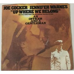 Joe Cocker And Jennifer Warnes ‎– Up Where We Belong / Sweet Li'l Woman Plak-LP