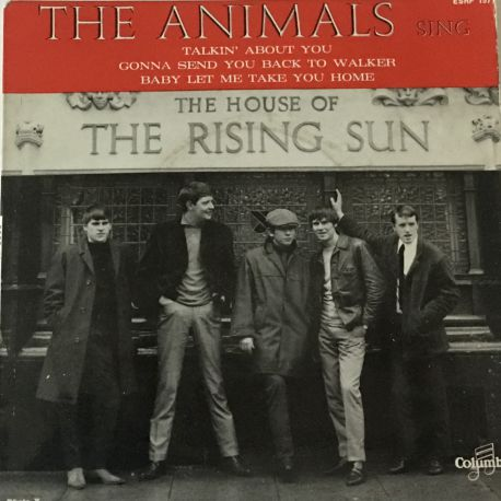 The Animals ‎– The House Of The Rising Sun