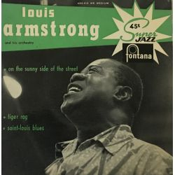 Louis Armstrong And His Orchestra ‎– Saint-Louis Blues