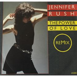 Jennifer Rush ‎– The Power Of Love  Plak