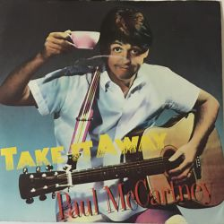 Paul McCartney ‎– Take It Away Plak-LP