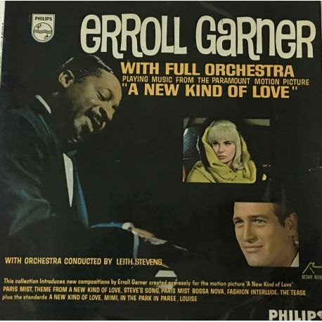 """Erroll Garner With Full Orchestra Conducted By Leith Stevens – Playing Music From """"A New Kind Of Love"""""""