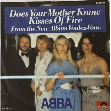 ABBA – Does Your Mother Know / Kisses Of Fire