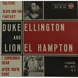 Duke Ellington And Lionel Hampton ‎– I Classici Del Jazz N. 3