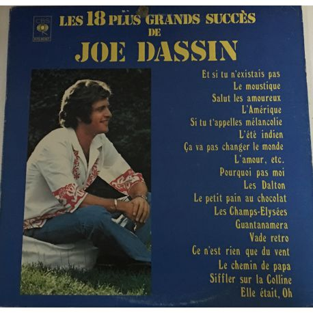 Joe Dassin – Les 18 Plus Grands Succès De Joe Dassin