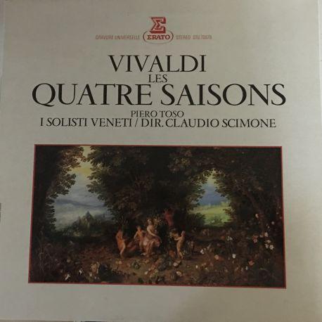 Vivaldi*, Piero Toso, I Solisti Veneti / Dir. Claudio Scimone – Les Quatre Saisons