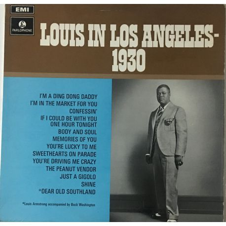 Louis Armstrong – Louis In Los Angeles - 1930