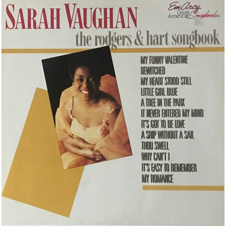 Sarah Vaughan ‎– The Rodgers & Hart Songbook