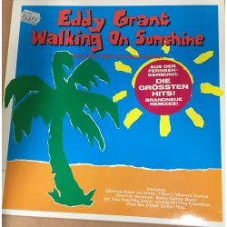 Eddy Grant ‎-Walking On Sunshine - The Very Best Of Eddy Grant Plak