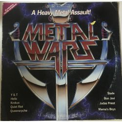 Various ‎– Metal Wars Plak