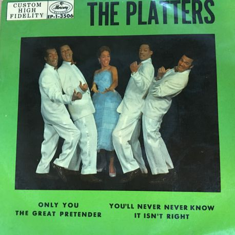 The Platters – Only You Plak