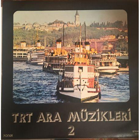 TRT Ara Müzikleri 2 Plak (Depo Plağı)